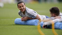 Thiago absolviert derzeit das Trainingslager der Bayern in Doha
