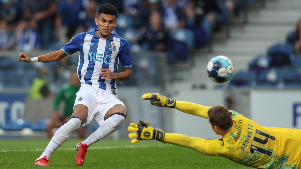 Luis Díaz soll das Interesse des FC Bayern geweckt haben