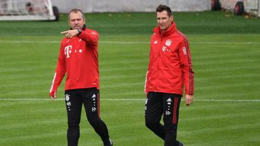 Damals gemeinsam beim FC Bayern: Flick und Klose