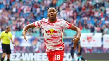 Christopher Nkunku von RB Leipzig soll das Interesse des FC Bayern geweckt haben