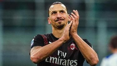 Zlatan Ibrahimovic hat sein erstes Tor nach seiner Rückkehr zum AC Mailand erzielt