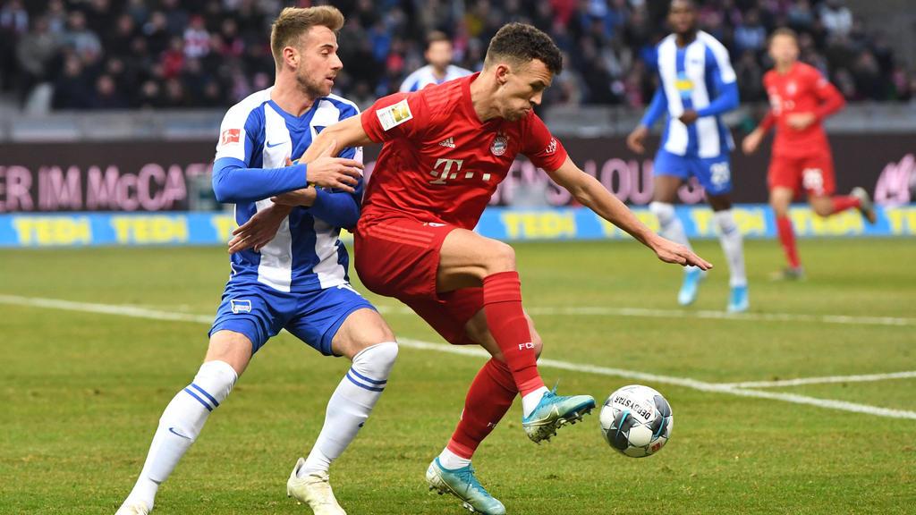 Der FC Bayern feierte einen deutlich Sieg gegen Hertha BSC