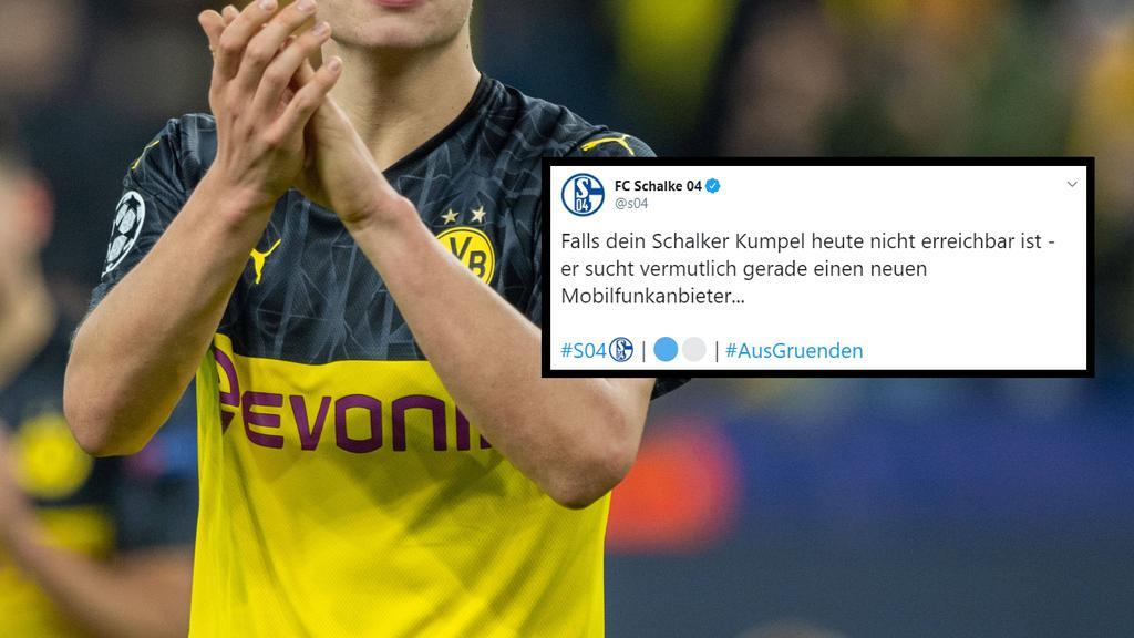 Schalke hat auf den neuen Trikot-Sponsor des BVB reagiert