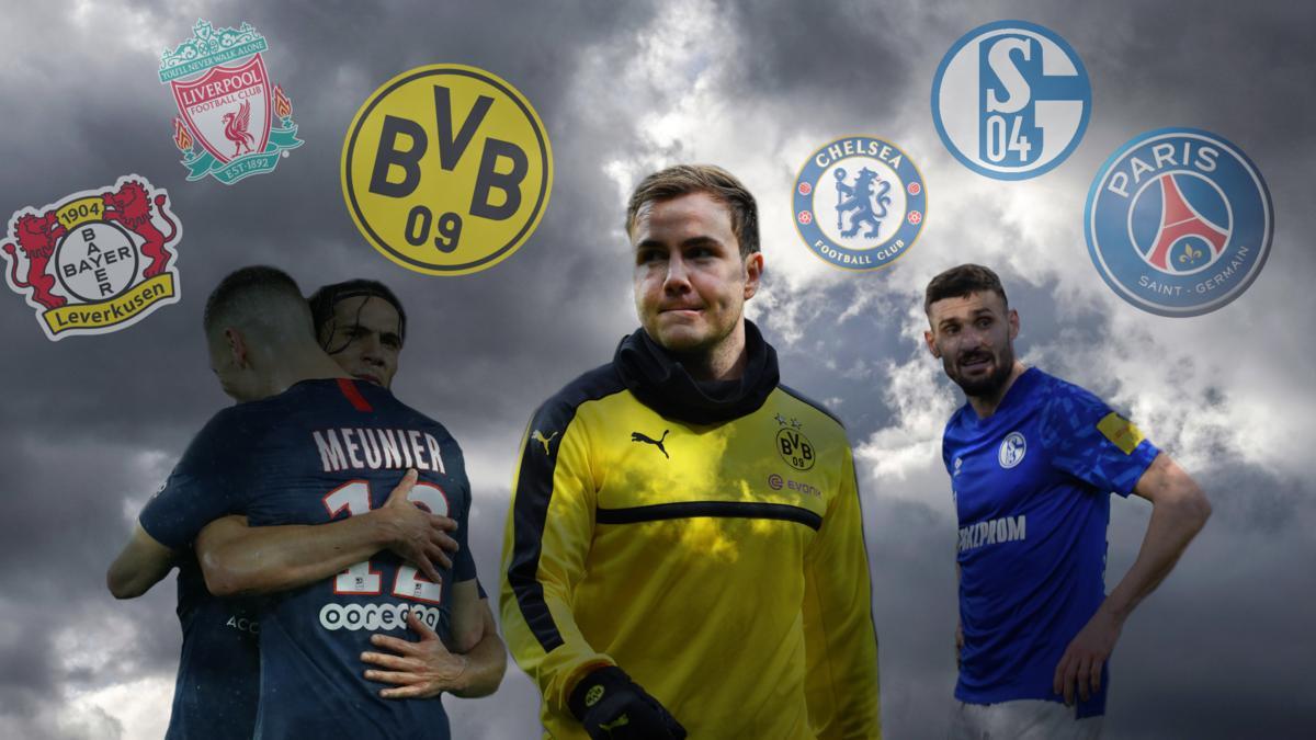 Viele Verträge von Spielern aus europäischen Top-Ligen laufen aus