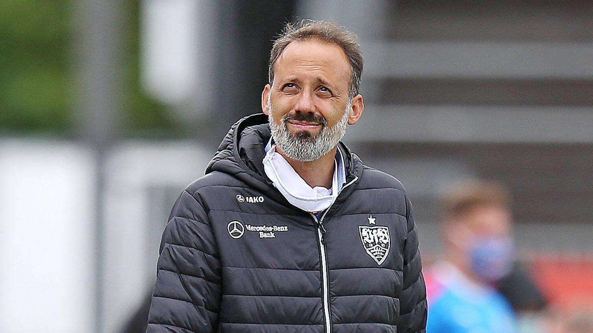 VfB-Coach Pellegrino Matarazzo hat mit seinem Team den Neustart verpatzt