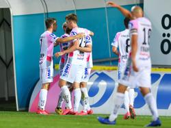 Vierfacher LASK-Jubel gegen Sturm Graz
