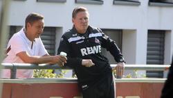 Horst Heldt (l.) hat beim 1. FC Köln noch viel Arbeit vor sich