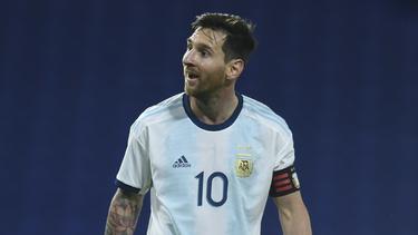 Lionel Messi mit Argentinien erfolgreich