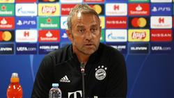 Hansi Flick und der FC Bayern müssen am Samstag in Bielefeld ran