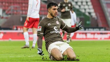 Omar Marmoush erzielte das zweite Tor für St. Pauli
