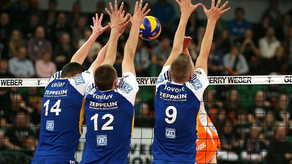 Die Berlin Recycling Volleys stehen im Viertelfinale der Volleyball-Champions-League