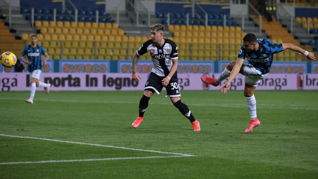 Führte Inter Mailand mit einem Doppelpack zum Sieg bei Parma Calcio: Alexis Sánchez