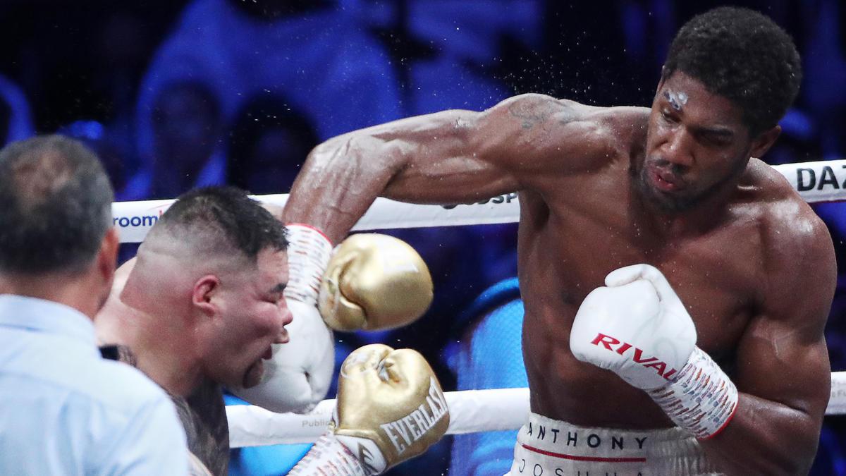 Anthony Joshua bekommt Tyson Fury vor die Fäuste