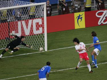 Ahns Golden Goal in der 116. Spielminute
