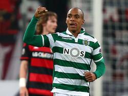 João Mário en Champions contra el Bayer Leverkusen. (Foto: Getty)