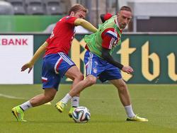 Franck Ribéry und Mario Götze warten auf ihr Comeback