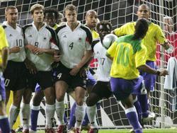 Freistoßkünstler Ronaldinho