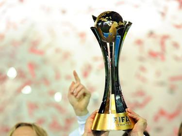 El trofeo del Mundial de Clubes. (Foto: Getty)
