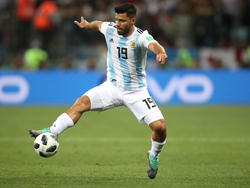 Wehrt sich gegen die Kritik seines Trainers: Argentiniens Sergio Agüero