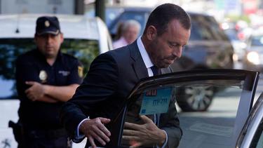 Sandro Rosell wurde wegen Geldwäsche angeklagt