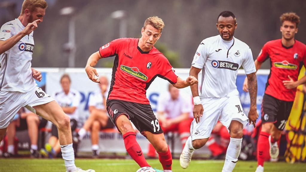 SC Freiburg feiert deutlichen Sieg gegen Swansea City (Bildquelle: scfreiburg.com)