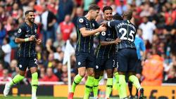 Manchester City schlägt den FC Arsenal verdient