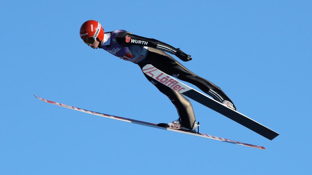 Karl Geiger hat in Engelberg erstmals einen Weltcup gewonnen