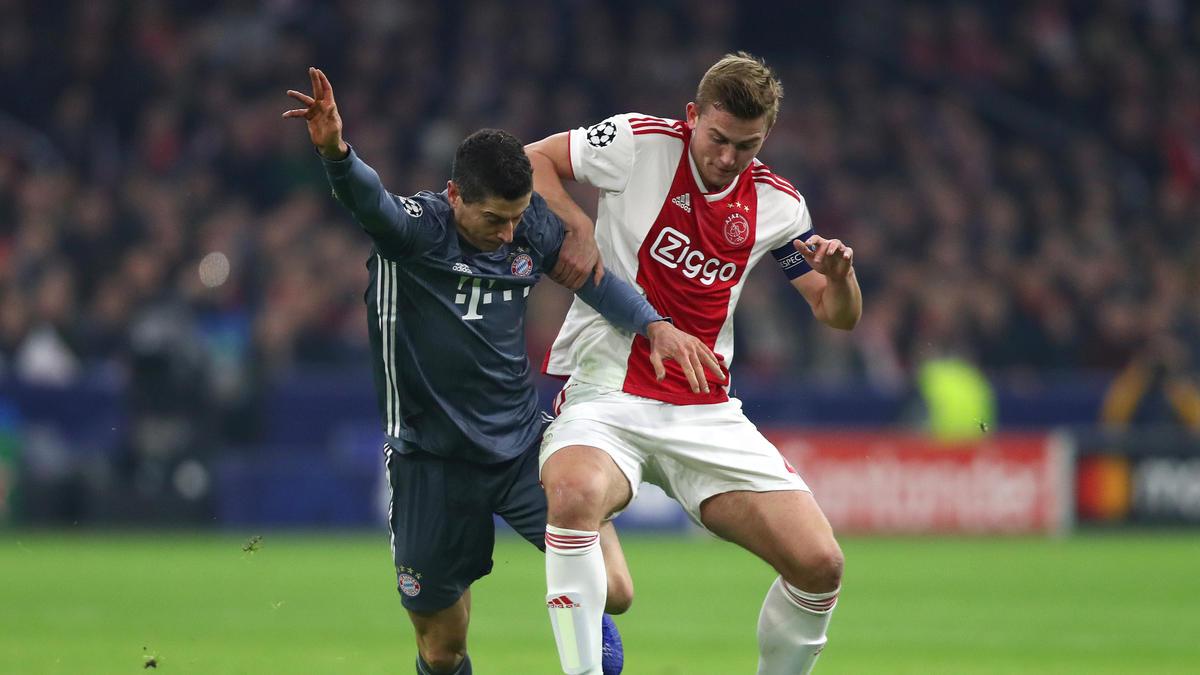 Matthijs de Ligt spielte mit Ajax in dieser Saison bereits zweimal gegen den FC Bayern