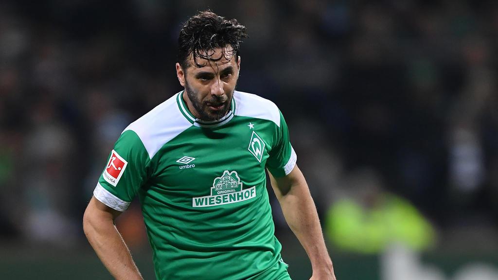 Claudio Pizarro zog sich eine Muskelverletzung zu