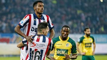 Alexander Isak ist vom BVB an Willem II verliehen