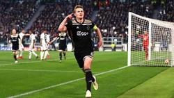 Matthijs de Ligt erzielte den Siegtreffer für Ajax