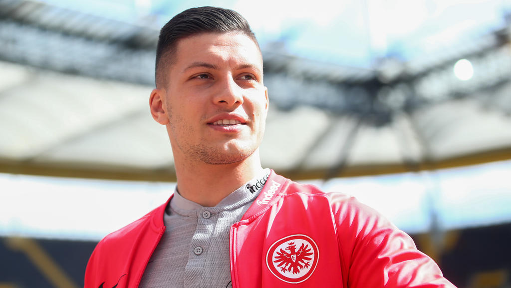 Luka Jovic von Eintracht Frankfurt ist heiß begehrt