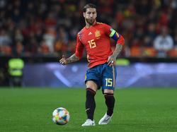 Sergio Ramos es el capitán de la Roja.