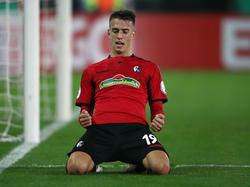 Janik Haberer erzielte für den SC Freiburg den Ausgleichstreffer