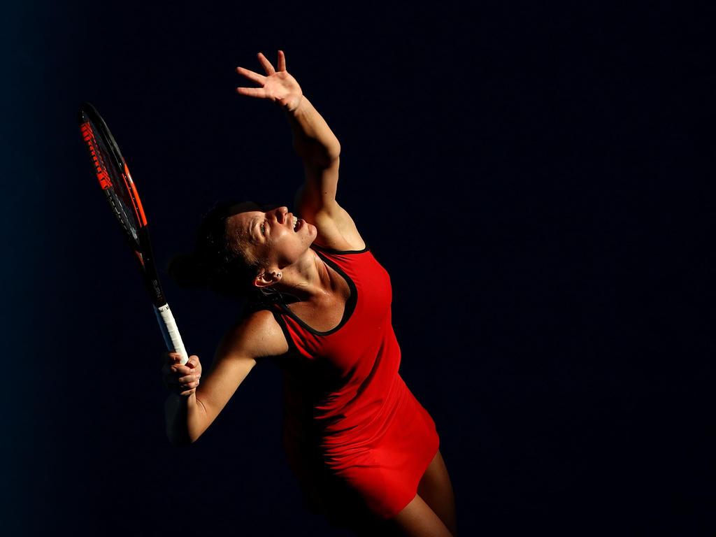 Simona Halep hat die Chance auf ihren ersten Grand-Slam-Titel