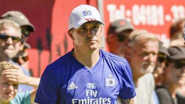 Neu beim HSV: Co-Trainer Tobias Schweinsteiger. Foto: Axel Heimken