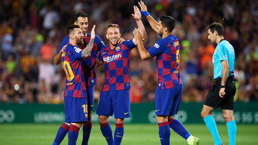 Der FC Barcelona hat sich gegen Villarreal durchgesetzt