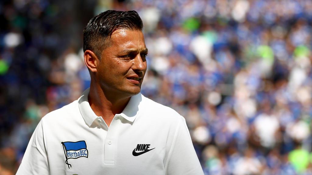 Ante Covic steht mit Hertha BSC unter Druck