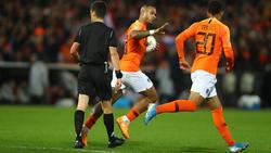 Depay lideró el triunfo 'Oranje' sobre San Marino.