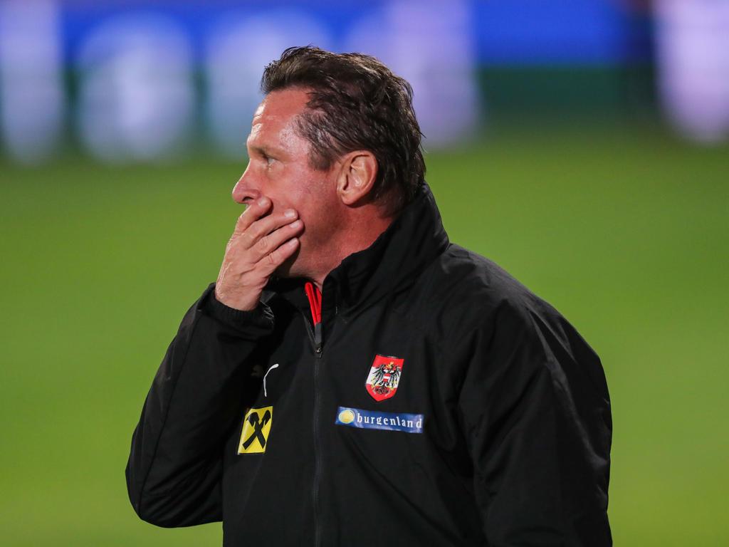 U21-Teamchef Werner Gregoritsch war nach dem