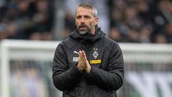 Marco Rose siegte mit Gladbach gegen den FC Bayern
