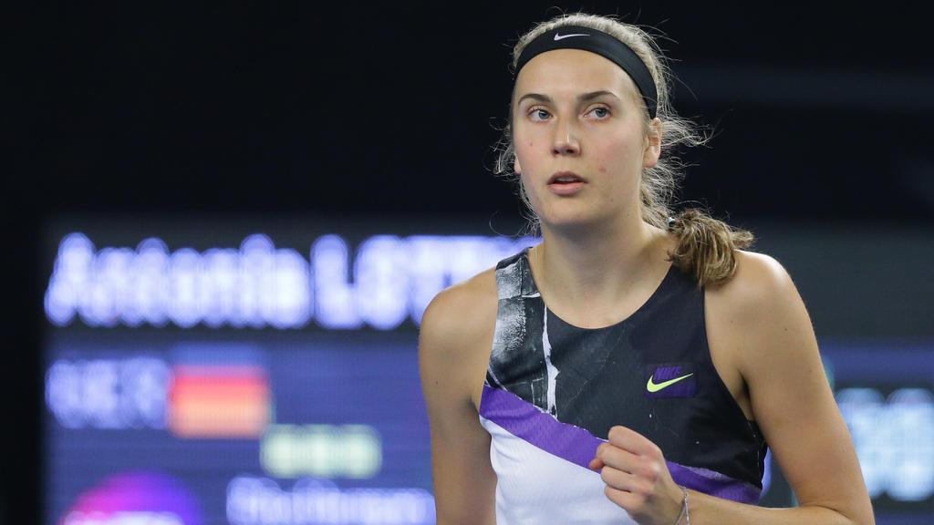 Antonia Lottner steht bei den Australian Open im Hauptfeld