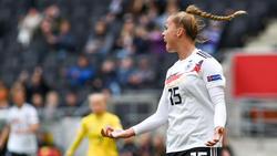 Giulia Gwinn steht im Kader der deutschen Fußball-Nationalmannschaft