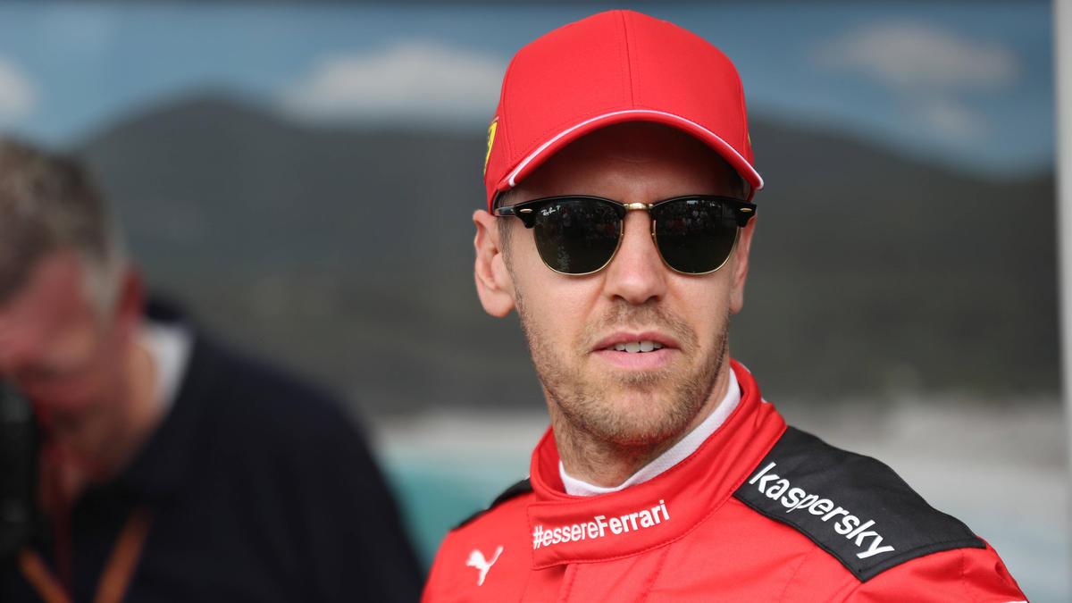 Sebastian Vettel fährt seine letzte Saison für Ferrari