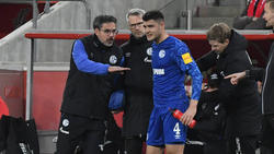 Ozan Kabak vom FC Schalke 04 hat eine Wirbelverletzung hinter sich