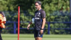 Zufrieden: Schalke-Coach David Wagner