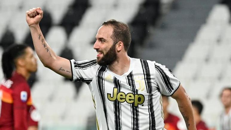 Soll vor einem Wechsel in die USAstehen: Gonzalo Higuaín von Juventus Turin