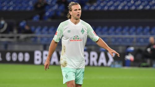Fällt vorerst verletzt aus: Werder-Angreifer Niclas Füllkrug