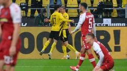 Viermal durfte der BVB gegen den SC Freiburg jubeln
