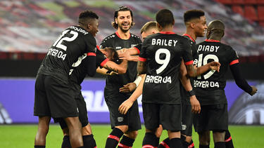 Bayer Leverkusen feierte einen Kantersieg gegen OGC Nizza